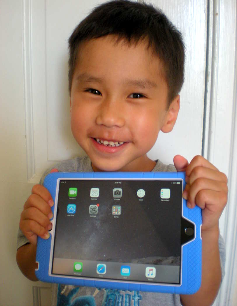 ipad kid for email