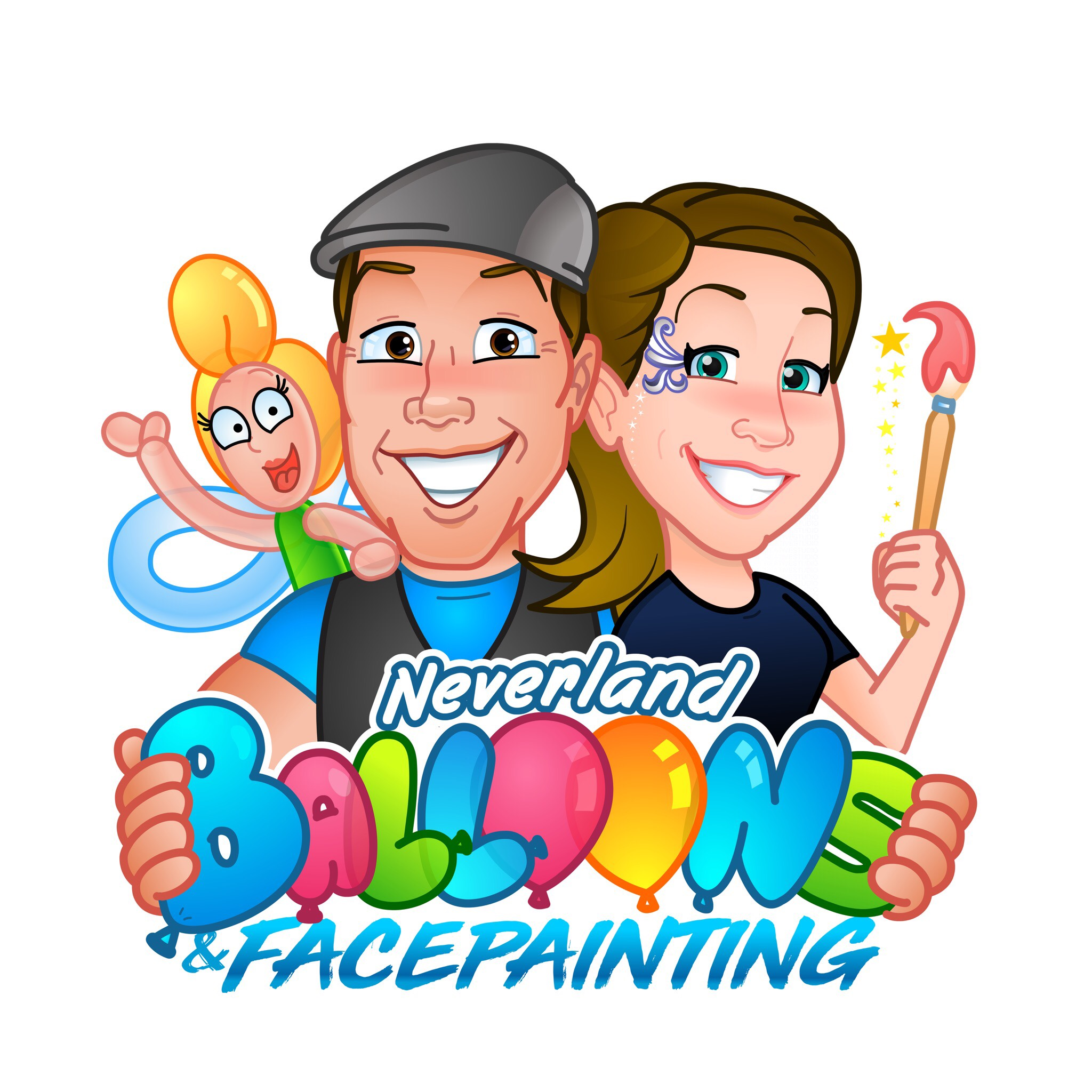 Neverland  Balloons & Face Painting (Platinum)
